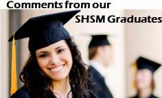 SHSM Graduate Comments