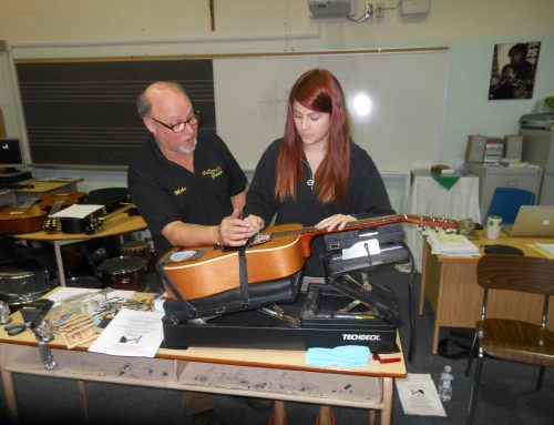 Guitar Repair Lesson